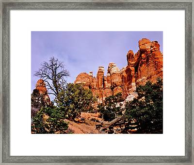 Chesler Park Pinnacles Framed Print