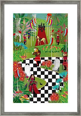 Chess Festival - Limited Edition 2 Of 20 Framed Print