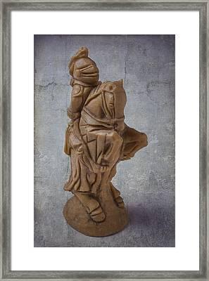 Chess Knight Framed Print