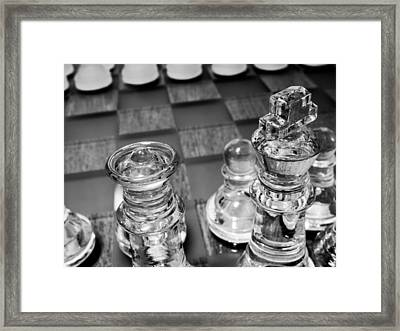 Chess Pieces 3 Framed Print