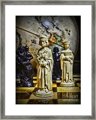 Chess - The Sacrifice Framed Print by Paul Ward