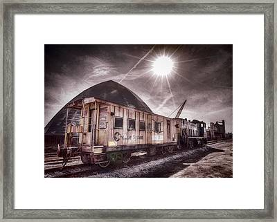 Chessie System Caboose Framed Print