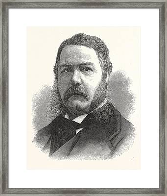 Chester Arthur, Vice-president-elect The United States Framed Print by American School
