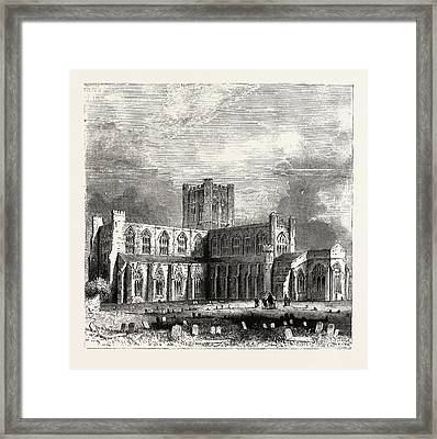 Chester Cathedral, Is The Mother Church Of The Church Framed Print by English School