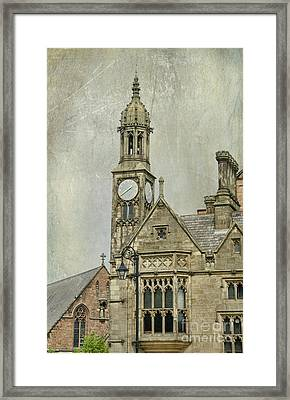 Chester England Framed Print by Juli Scalzi