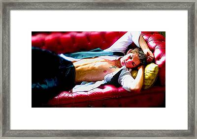 Chesterfield Boy Framed Print