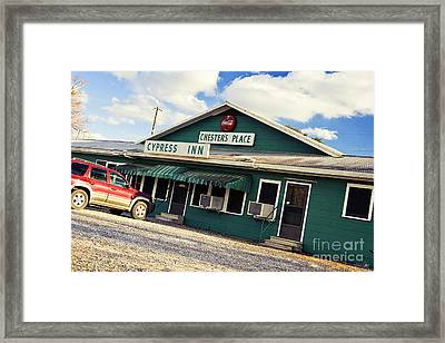 Chester's Framed Print by Scott Pellegrin