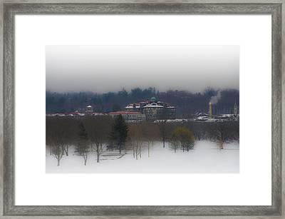 Chestnut Hill College From Whitemarsh Valley Framed Print