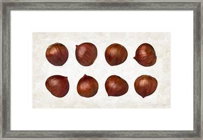 Chestnuts Framed Print by Danny Smythe