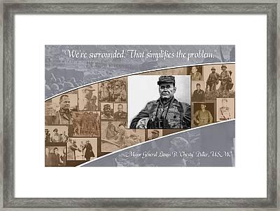 Chesty Framed Print by Annette Redman