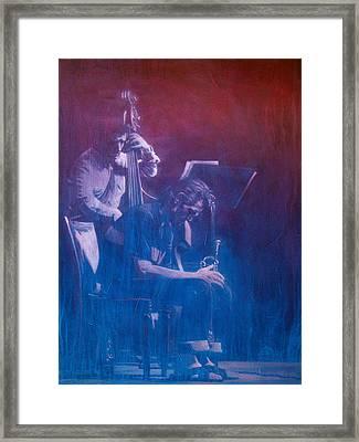 Chet Baker Framed Print by Frans Mandigers