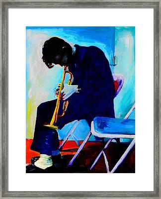 Chet Baker Framed Print by Vel Verrept