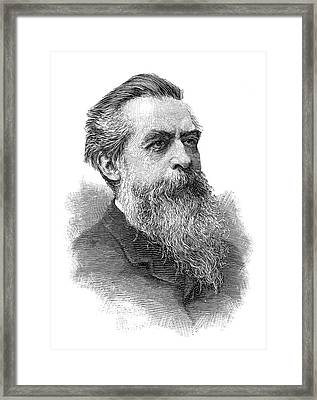 Chevalier Louis Contencin (1834-1897) Framed Print by Granger