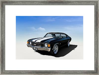 Chevelle Ss Framed Print by Douglas Pittman
