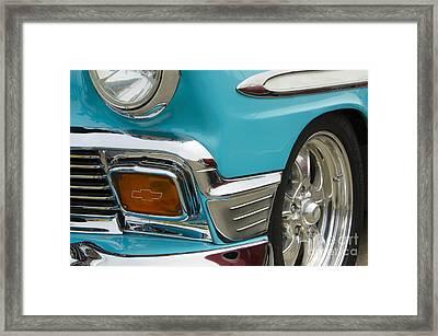 Chevrolet Beauty Of Design Framed Print by Bob Christopher