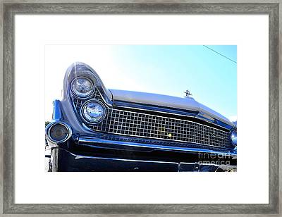 Chevrolet Blue  Framed Print by LLaura Burge