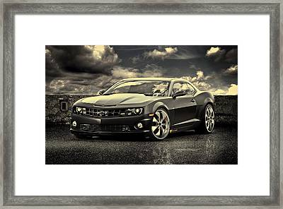 Chevrolet Camaro Ss Framed Print