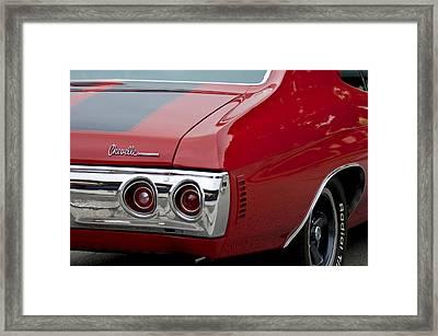 Chevrolet Chevelle Ss Taillight Emblem 3 Framed Print