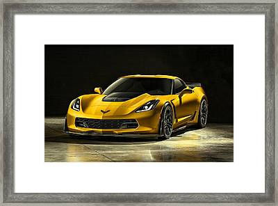 Chevrolet Corvette Z06  Framed Print