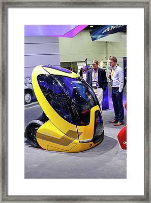 Chevrolet Driver-less Concept Car Framed Print