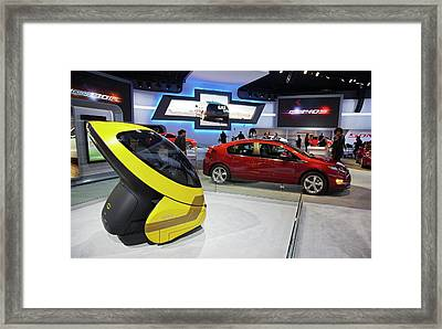 Chevrolet Electric Cars Framed Print by Jim West