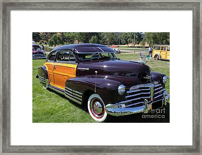 Chevrolet Fleetline Woody 5d22785 Framed Print