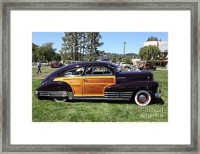 Chevrolet Fleetline Woody 5d22786 Framed Print