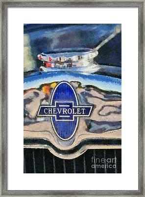 1929 Chevrolet International 2ac Framed Print