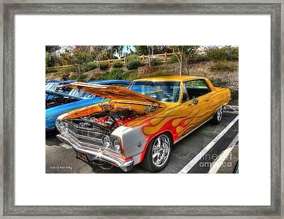 Chevrolet Malibu Ss Framed Print
