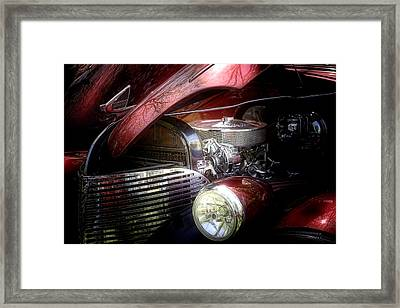 Chevrolet Master Deluxe 1939 Framed Print by Tom Mc Nemar