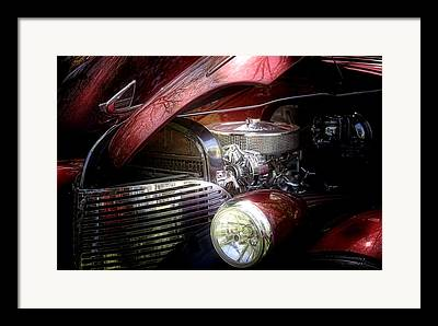 Car Hod Framed Prints