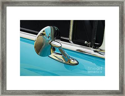 Chevrolet Mirror Beauty Of Design Framed Print by Bob Christopher