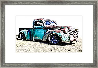 Chevrolet Pickup Framed Print by Phil 'motography' Clark
