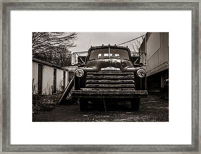 Chevrolet Pickup  Framed Print by Off The Beaten Path Photography - Andrew Alexander
