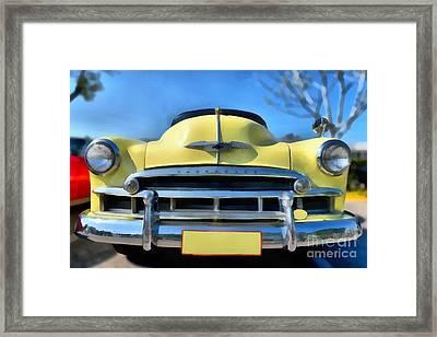 1951 Chevrolet Skyline Framed Print