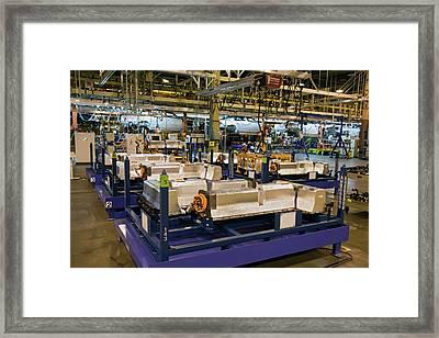 Chevrolet Volt Lithium-ion Batteries Framed Print