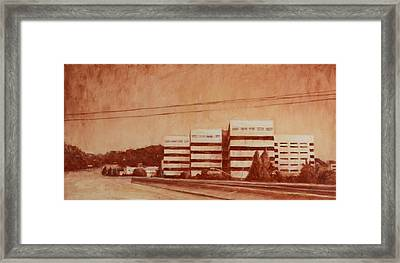 Chevron  Framed Print by Jeff Levitch
