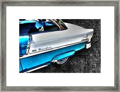 Chevy Bel Air Art 2 Tone Side View Art 1 Framed Print