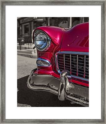 Chevy Bel Air Framed Print by Edward Fielding