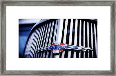 Chevy Fleetline Framed Print
