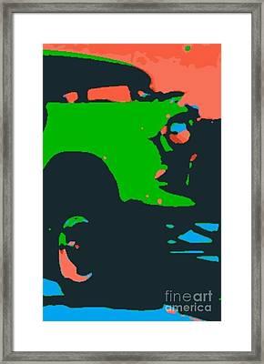 Chevy Gasser II Framed Print by James Eye