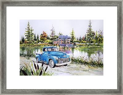 Chevy Framed Print