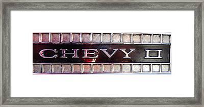 Chevy II Framed Print