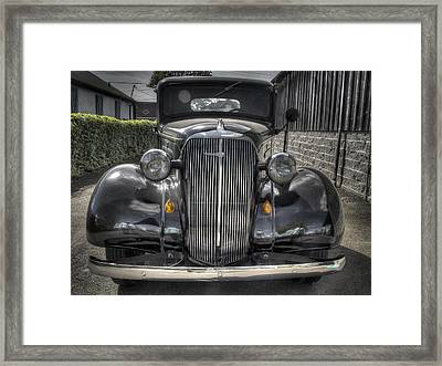 Chevy Framed Print by Jean Noren