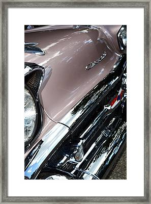 Chevy Framed Print by Michelle Calkins