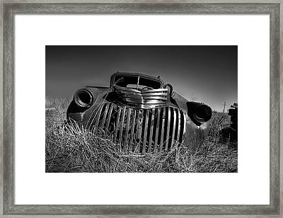 Chevy Pickup Framed Print by Peter Tellone