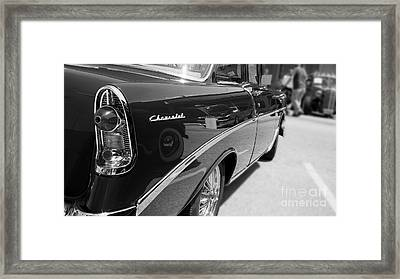 Chevy Reflections Framed Print