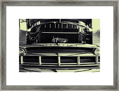 Chevy Runs Deep Framed Print