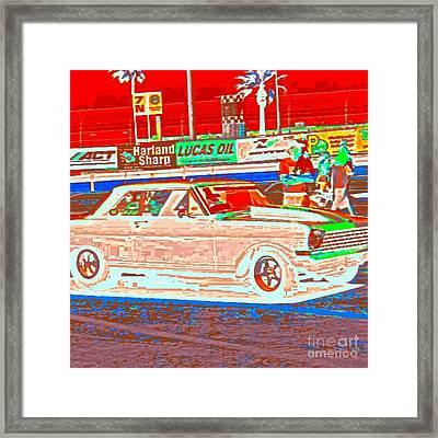 Chevy Shoe Box Framed Print by James Eye
