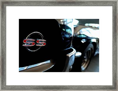 Chevy Ss - Leading The Pack Framed Print
